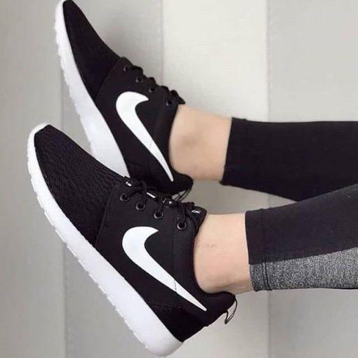 Replika Nike Roshe Siyah Bayan Ayakkabı