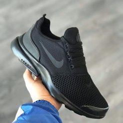 Kaliteli Replika-Çakma Nike Duralon Siyah Ayakkabı