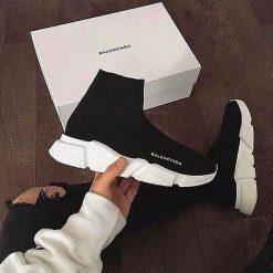 Replika-Çakma Çorap Balenciaga Bayan Ayakkabı