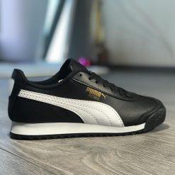 Replika-Çakma Puma Roma Syah Unisex Ayakkabı