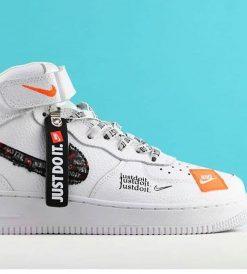 Replika Nike Just Do İt Beyaz Ayakkabı