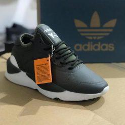 Replika Adidas Yeezy Y-3 Haki Yeşili Erkek Günlük Ayakkabı