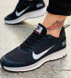 Replika-Çakma Nike Pegasus Siyah Erkek Günlük Ayakkabı