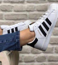 Replika Adidas SuperStar Beyaz Erkek-Bayan Günlük Ayakkabı