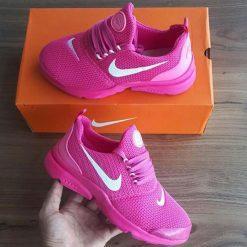 Replika-Çakma Nike Duralon Mor Bayan Spor Ayakkabı