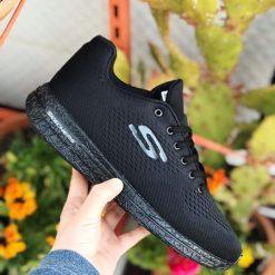 Replika Skechers Siyah Erkek-Bayan Spor Ayakkabı