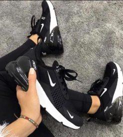 Çakma Nike Siyah-Beyaz Air 270 Ayakkabı