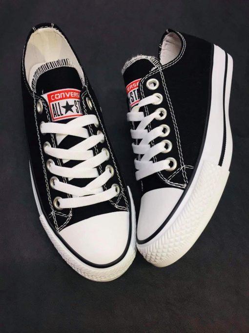 Kaliteli Çakma Converse Siyah Ayakkabı