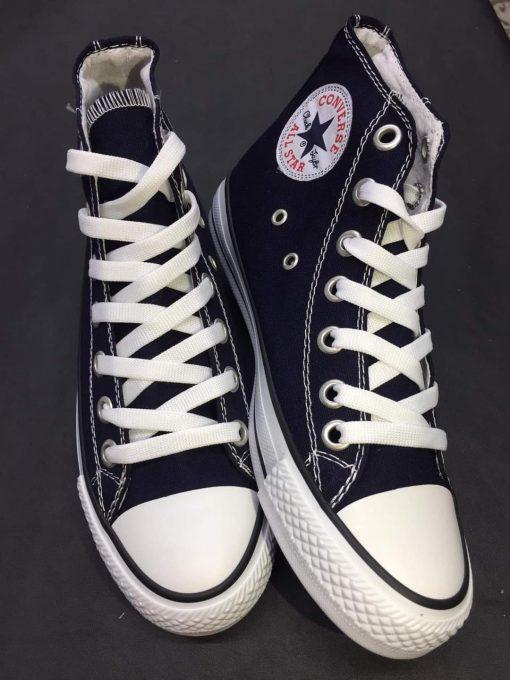 Çakma Converse Siyah Bilekli Ayakkabı