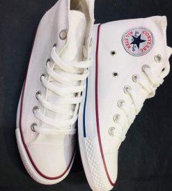 Çakma Converse Beyaz Bilekli Ayakkabı