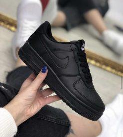 Çakma Nike Siyah Air Force Ayakkabı