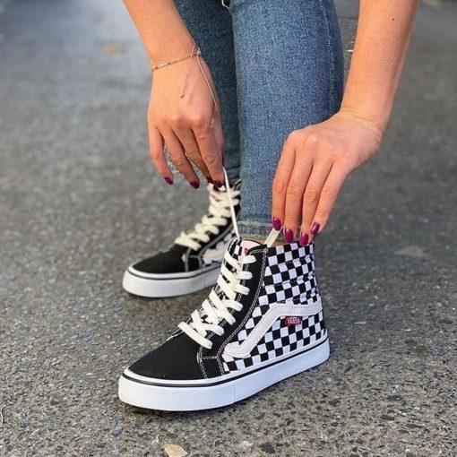 Çakma Vans Dama Bilekli Ayakkabı