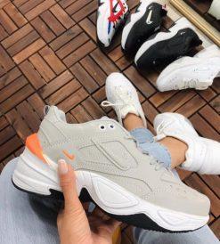 Çakma Nike Gri M2 Tekno Ayakkabı