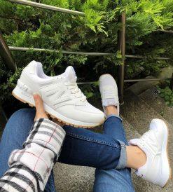 Çakma New Balance 574 Beyaz Ayakkabı