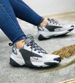 Çakma Nike Siyah-Beyaz Zoom 2K Ayakkabı