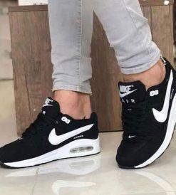 Çakma Nike Siyah Airmax Ayakkabı