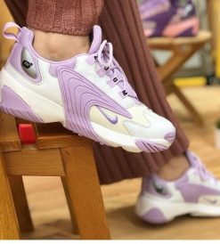 Çakma Nike Mor Zoom 2K Ayakkabı