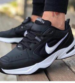 Çakma Nike Siyah Air Monarch Ayakkabı