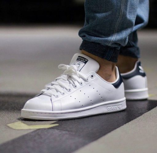 Çakma Adidas Beyaz-Siyah Stan Smith Ayakkabı