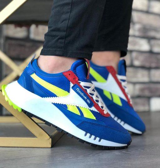 Çakma Reebok Mavi Legacy Ayakkabı