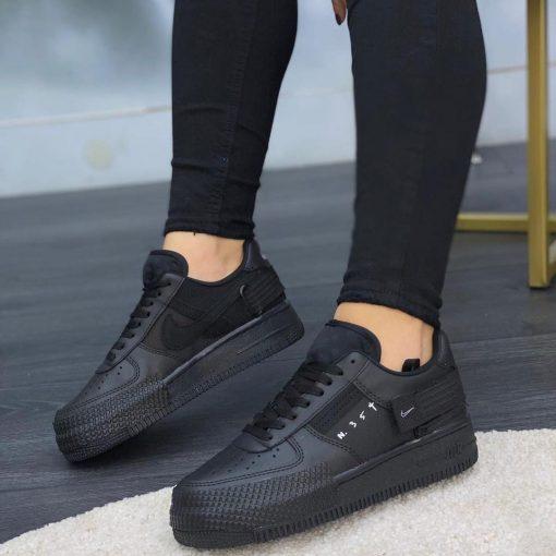 Çakma Nike Siyah Air Force N354