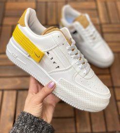 Çakma Nike Beyaz-Sarı Air Force N354