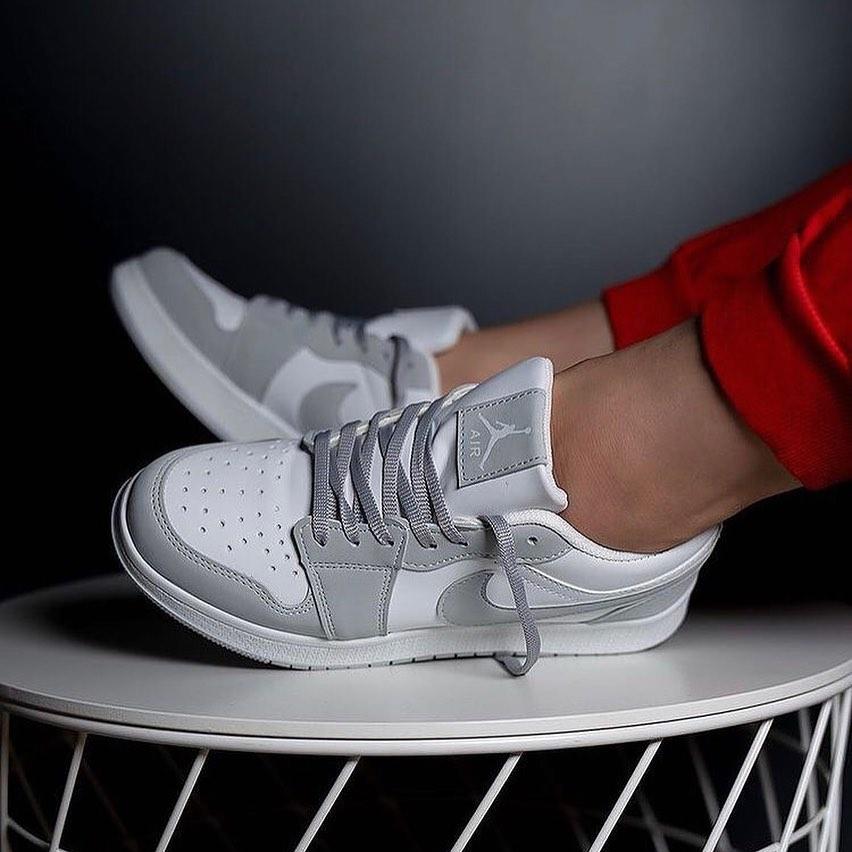 Çakma Nike Gri Jordan Kısa Ayakkabı