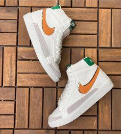 Çakma Nike Blazer Beyaz-Turuncu